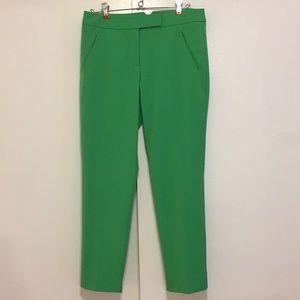 Trina Turk green trousers